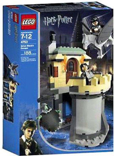 LEGO Harry Potter Prisoner of Azkaban Sirius Black's Escape Set #4753