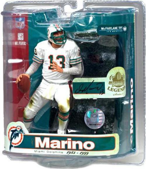 McFarlane Toys NFL Miami Dolphins Sports Picks Legends Series 3 Dan Marino Action Figure [White Jersey]