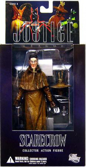 Batman Alex Ross Justice League Series 6 Scarerow Action Figure