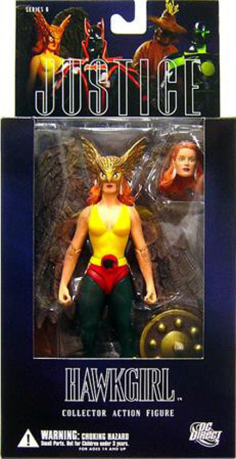 DC Alex Ross Justice League Series 6 Hawkgirl Action Figure
