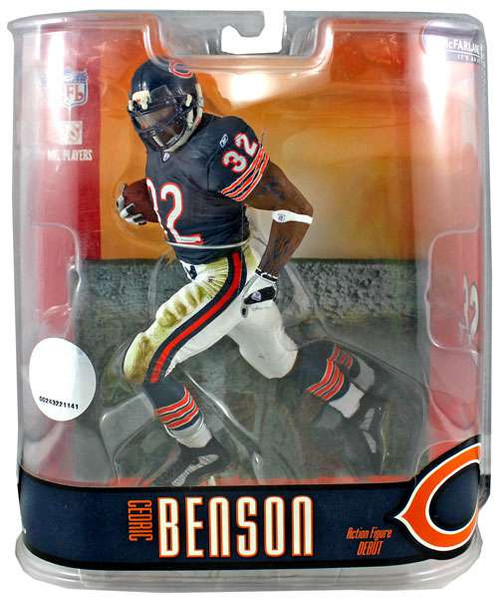 McFarlane Toys NFL Chicago Bears Sports Picks Series 15 Cedric Benson Action Figure