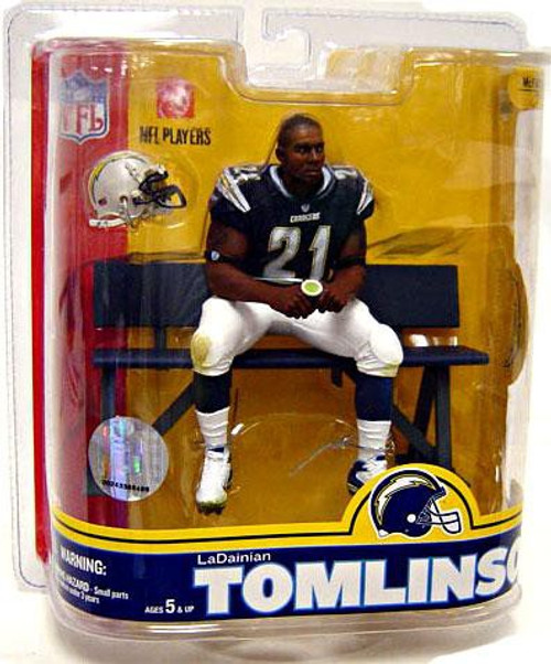 McFarlane Toys NFL San Diego Chargers Sports Picks Series 16 LaDainian Tomlinson Action Figure [Blue Jersey]