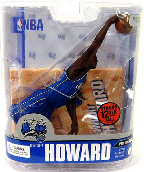 McFarlane Toys NBA Orlando Magic Sports Picks Series 13 Dwight Howard Action Figure