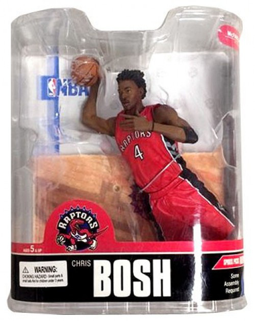 McFarlane Toys NBA Toronto Raptors Sports Picks Series 13 Chris Bosh Action Figure [Red Jersey]