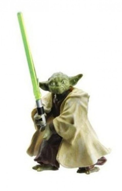 Star Wars Attack of the Clones 2007 Saga Legends (30th Anniversary) Yoda Action Figure #3