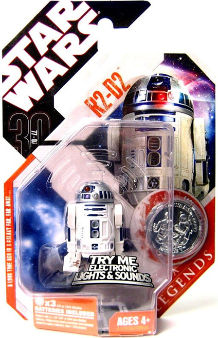 Star Wars A New Hope 2007 Saga Legends (30th Anniversary) R2-D2 Action Figure #4