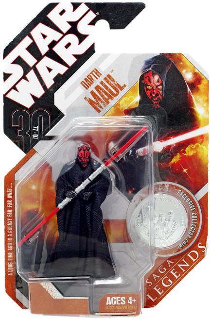 Star Wars Phantom Menace 2007 Saga Legends (30th Anniversary) Darth Maul Action Figure #2