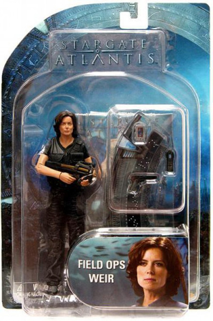Stargate Atlantis Series 1 Dr. Elizabeth Weir Action Figure [FIeld Ops]