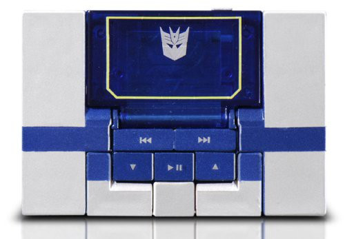 Transformers Japanese Music Label Soundwave MP3 Player [Spark Blue]