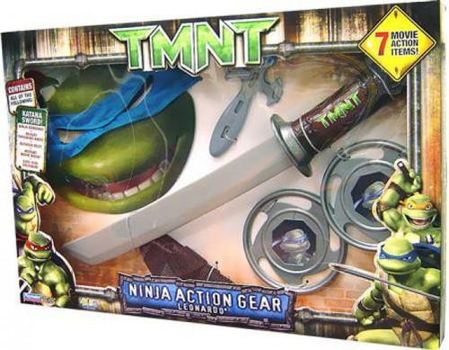 Teenage Mutant Ninja Turtles TMNT Ninja Action Gear Leonardo Costume Set