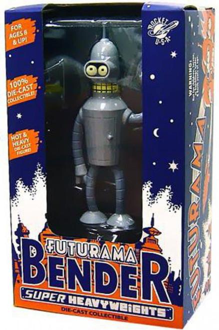 Futurama Super Heavyweight Bender Diecast Figure