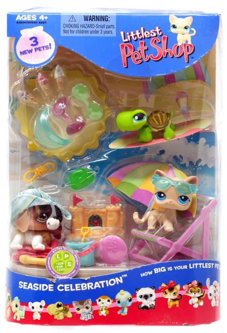 Littlest Pet Shop Summer Seaside Celebration Playset #2