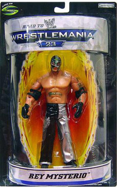 WWE Wrestling Road to WrestleMania 23 Series 1 Rey Mysterio Exclusive Action Figure