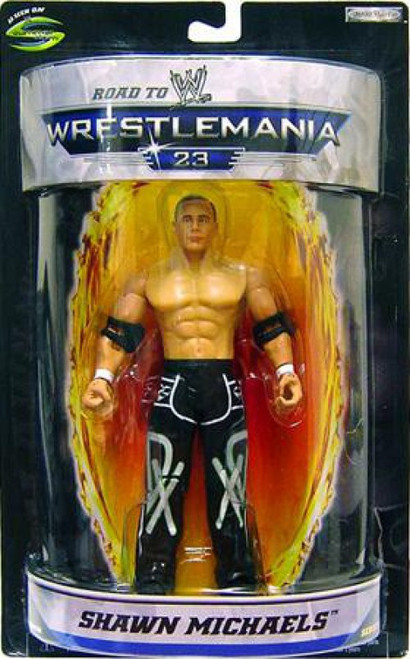 WWE Wrestling Road to WrestleMania 23 Series 1 Shawn Michaels Exclusive Action Figure