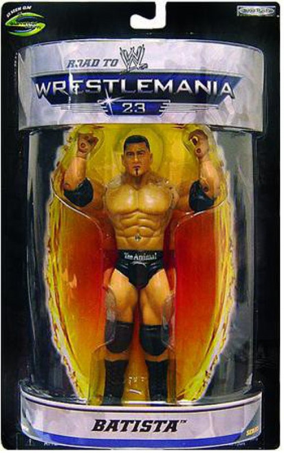 WWE Wrestling Road to WrestleMania 23 Series 1 Batista Exclusive Action Figure
