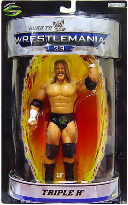 WWE Wrestling Road to WrestleMania 23 Series 1 Triple H Exclusive Action Figure