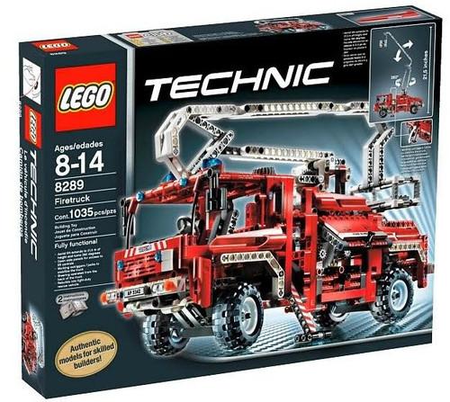 LEGO Technic Fire Truck Set #8289