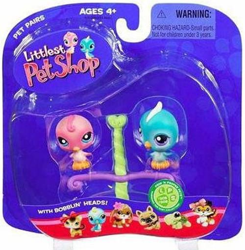 Littlest Pet Shop Pet Pairs Blue Birdie & Pink Birdie Figure 2-Pack