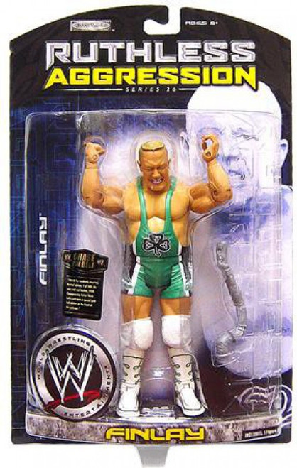 WWE Wrestling Ruthless Aggression Series 26 Finlay Action Figure