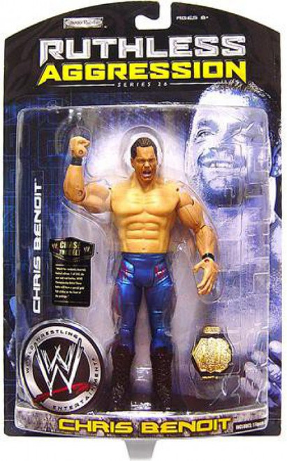 WWE Wrestling Ruthless Aggression Series 26 Chris Benoit Action Figure