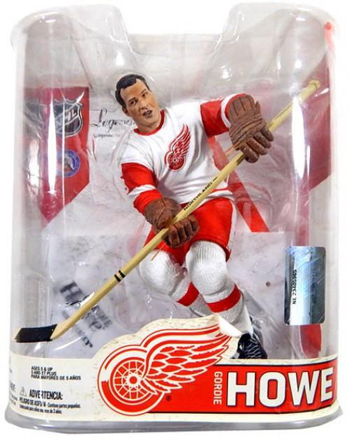 McFarlane Toys NHL Detroit Red Wings Sports Picks Legends Series 6 Gordie Howe Action Figure [White Jersey]