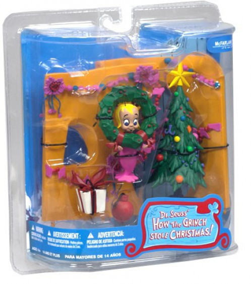 McFarlane Toys Dr. Seuss How the Grinch Stole Christmas! Cindy Lou Who Action Figure
