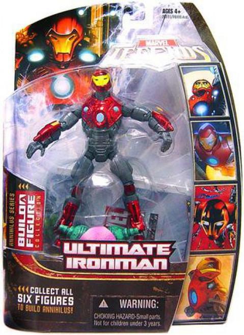 Marvel Legends Annihilus Series Ultimate Iron Man Action Figure [Helmet On]