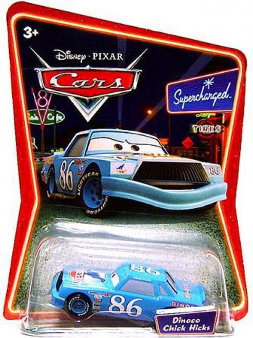 Disney / Pixar Cars Supercharged Dinoco Chick Hicks Diecast Car