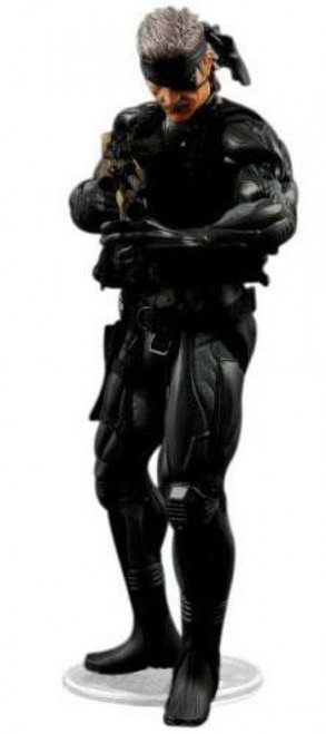 Metal Gear Solid 4 Solid Snake Action Figure