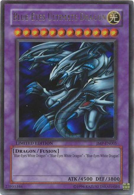 YuGiOh Shonen Jump Ultra Rare Blue Eyes Ultimate Dragon JMP-EN005
