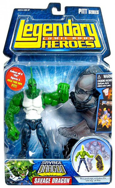 Marvel Legendary Heroes PITT Series Savage Dragon Action Figure [With Shirt]