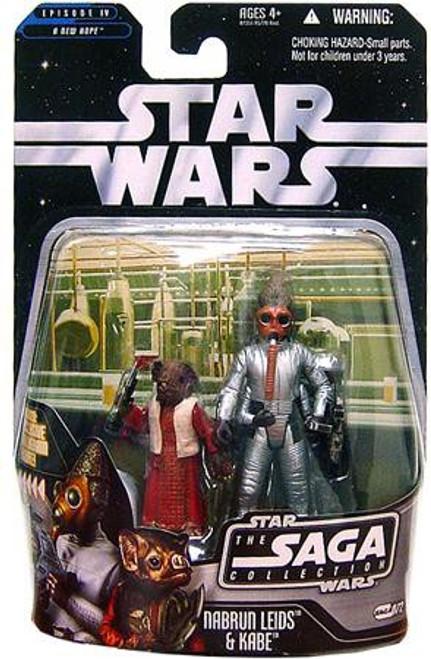 Star Wars A New Hope 2006 Saga Collection Nabrun Leids & Kade Action Figure 2-Pack #72