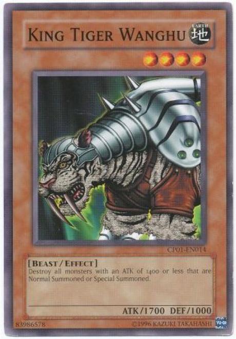 YuGiOh GX Trading Card Game Champion Pack: Game 1 Common King Tiger Wanghu CP01-EN014