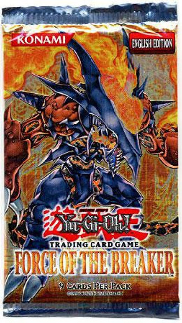 YuGiOh Trading Card Game Force of the Breaker Booster Pack