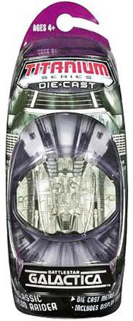 Battlestar Galactica Titanium Series Cylon Raider Diecast Vehicle [Classic]