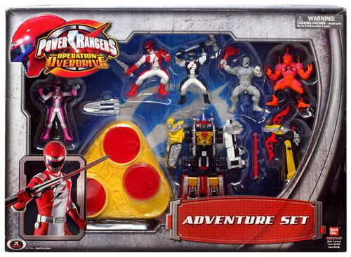 Operation Overdrive Power Rangers Adventure Set PVC Figures