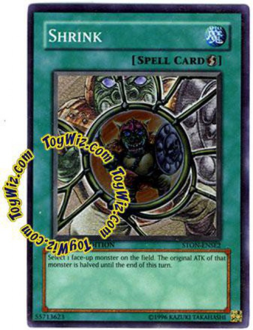 YuGiOh GX Trading Card Game Strike of Neos Special Edition Super Rare Shrink STON-ENSE2