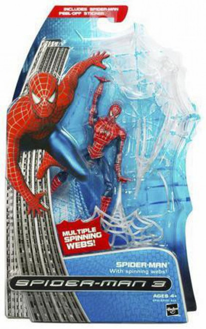 Spider-Man 3 Spider-Man Action Figure [With Spinning Webs]