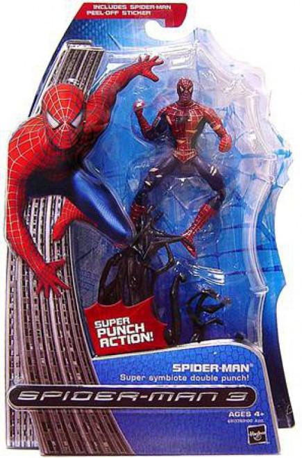 Spider-Man 3 Spider-Man Action Figure [Super Symbiote Double Punch]