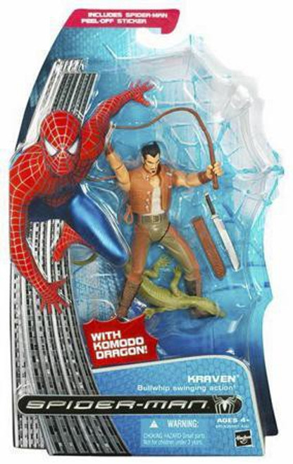 Spider-Man 3 Kraven Action Figure