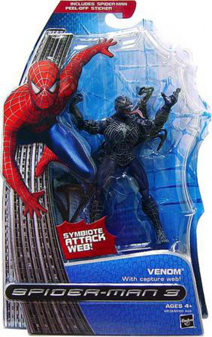 Spider-Man 3 Venom Action Figure [Capture Web]