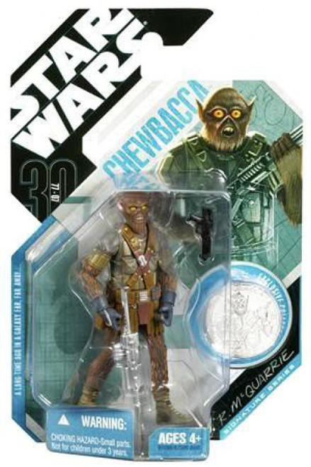 Star Wars Expanded Universe 30th Anniversary 2007 Wave 3 Chewbacca Action Figure #21 [McQuarrie Concept]
