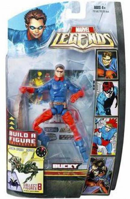 Marvel Legends Brood Queen Series Bucky Action Figure [Golden Age]