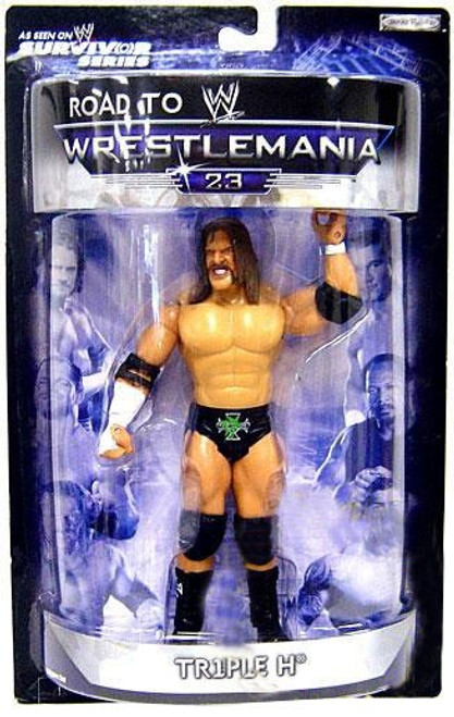 WWE Wrestling Road to WrestleMania 23 Series 2 Triple H Exclusive Action Figure