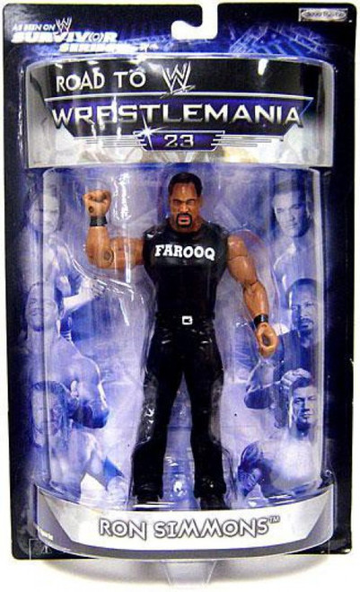 WWE Wrestling Road to WrestleMania 23 Series 2 Ron Simmons Exclusive Action Figure