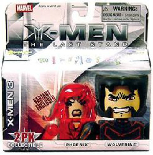 Marvel X-Men The Last Stand Minimates Series 14 Phoenix & Jean Grey Minifigure 2-Pack