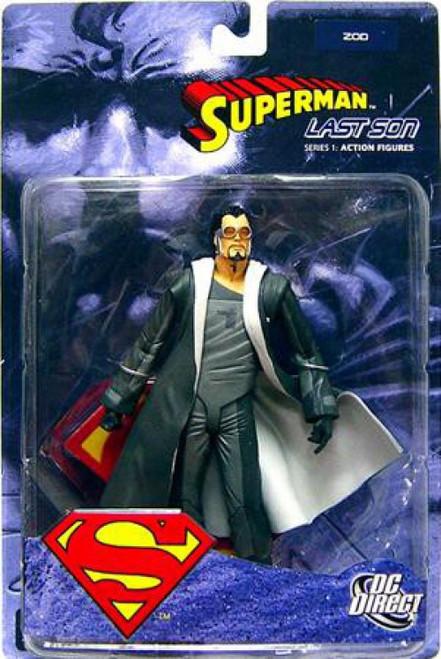 DC Superman Last Son Series 1 Zod Action Figure