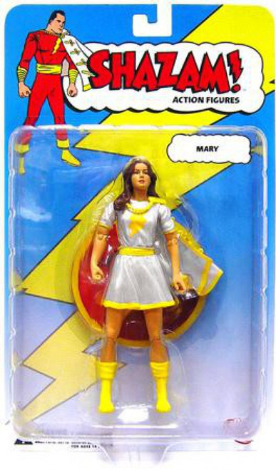 DC Shazam Mary Marvel Action Figure [White Outfit]