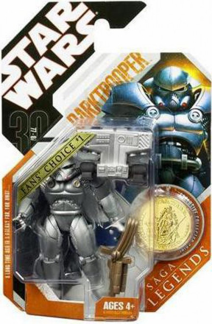 Star Wars Expanded Universe 2007 Saga Legends (30th Anniversary) Darktrooper Action Figure #22