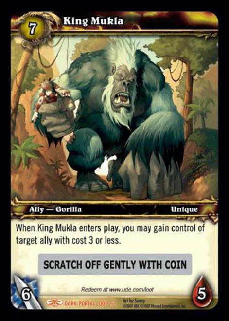 World of Warcraft Trading Card Game Dark Portal Legendary Loot King Mukla #2